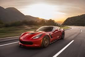2018 callaway corvette aerowagen red color on road full hd