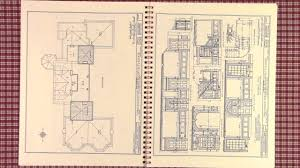 springwood drawings home of fdr hyde park ny plan book of