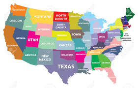 Map Of Usa States by