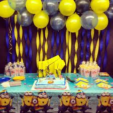 minion birthday party ideas despicable me minions party ideas decoration birthdays and