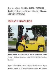 hyster c024 s135xl s155xl s155xl2 forklift service repair factory m u2026