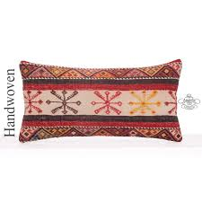 eclectic designer throw pillow 12x24