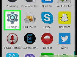 how to remove account from android how to remove a account on android 7 steps with pictures