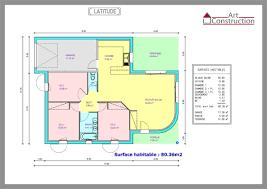 plan maison plain pied 3 chambres 100m2 plan de maison de plain pied 3 chambres