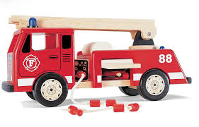 wooden truck toy toy fire engine wooden fire truck model fire engine
