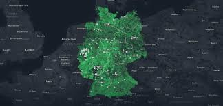 Germany Google Maps by Analysing Satellite Images With Google Earth Engine