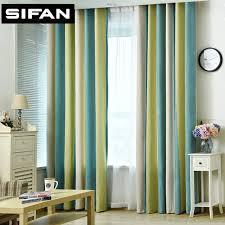 stores pour chambres à coucher haute qualité é imprimé chenille fenêtre rideaux pour la