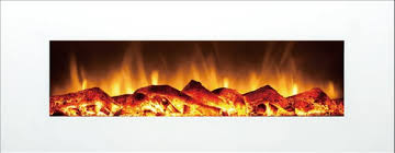 Wall Mounted Electric Fireplace Heater Log Flame 1500 Watt Wall Mounted Electric Fireplace Heater From