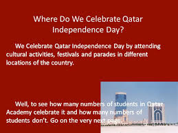 qatar independence day ppt
