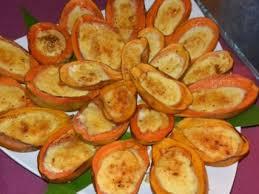 cuisiner la papaye recette papaye à la crème brulée