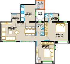 2bhk Plan For 500 Sq Ft 1177 Sq Ft 2 Bhk 2t Apartment For Sale In Orange County Royal