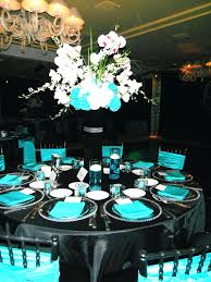 teal wedding decorations turquoise black and white party decorations modern black white