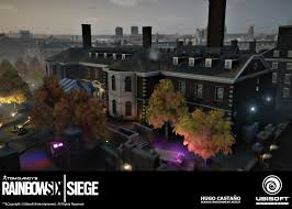 layered rainbow shots hugo castaño environment artist rainbow six siege operation