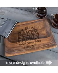 personalized serving tray deals on personalized serving tray custom serving tray wooden