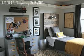Bedroom Ideas For 6 Year Old Boy Chic On A Shoestring Decorating Bigger Boy Room Reveal