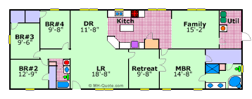 1999 fleetwood mobile home floor plan mobile home floor plan carriage manor by fleetwood floor plans