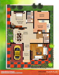 kerala style contemporary villa elevation and plan at 2035 sq ft