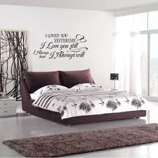 Master Bedroom Wall Stencils 22 Wall Decal Ideas For Bedroom Home Shop Bedroom Wall Decals