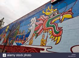 welcome to vancouver chinatown wall mural vancouver bc canada stock photo welcome to vancouver chinatown wall mural vancouver bc canada