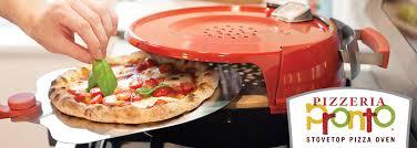 pizzacraft stovetop pizza oven homepage slider pizzeria pronto stovetop pizza oven the
