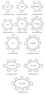 Size Round Dining Table For  Dimensions  Person Dining Table - Dimensions for dining table for 8