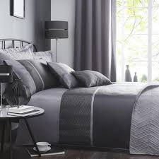 Dunelm Mill Duvets Owen Black Bed Linen Collection Dunelm