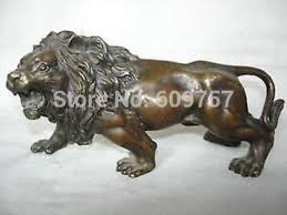 antique bronze lion aliexpress buy collectible bronze lion statue sculpture
