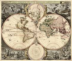 antique map world show a historic sensibility or simply start a conversation with