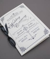 wedding booklet templates diy ornate vintage wedding program booklet template add your