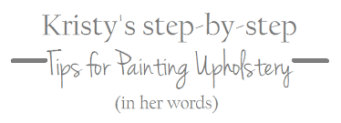 Easy Upholstery Step By Step Painting Upholstery How Easy Is It Emily A Clark