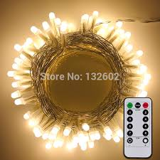 battery operated led string lights waterproof battery operated 10m 33ft 100leds pvc wire pearl led string lights