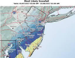 Map Of Middlesex County Nj N J Bracing For Winter Storm Bringing Snow And Frigid Temps Nj Com
