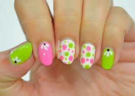 cute green nail designs image collections nail art designs