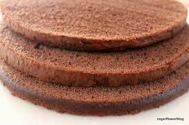 chocolate sponge cake recipe for making a fondant cake karen u0027s