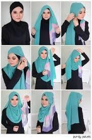 tutorial memakai jilbab paris yang simple tutorial hijab by dheashiendra matt segiempat paris step 1 taruh