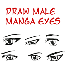 draw anime eyes male how to draw manga boys u0026 men eyes drawing
