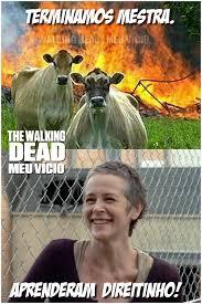 Carol Twd Meme - carol twd humor tirinha vacas the walking dead by twdmeuvicio on