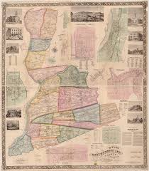 Map Pennsylvania by Northumberland Co 1858 Map Township Warrantee Maps
