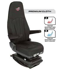 Auto Seat Riser Cushion Minimizer Truck Seat Ultra Leather With Heat And Cool Rhodes Works