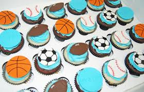 sport themed baby shower its a boy sports themed baby shower cupcakes football s flickr