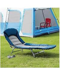 Folding Chair Bed Black Friday Special Members Mark Folding Cot Lounger Camping