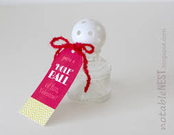 diy easy valentine cards golf ball valentines inspired by family
