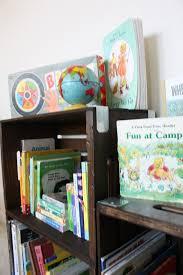 Land Of Nod Bookshelf Diy Crate Bookshelf Honest To Nod