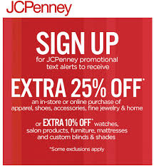 jcpenney coupon extra 25 off southern savers