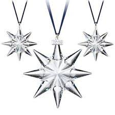 swarovski 2009 ornament set ebay