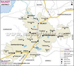 map of rajkot rajkot district map