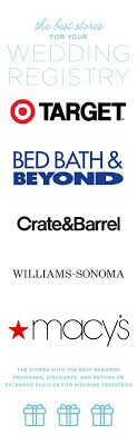 wedding gift registry canada bed bath and beyond wedding registry return policy bernit bridal