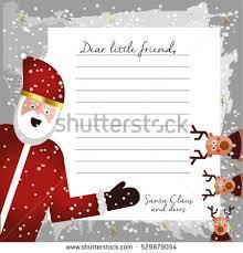 cute letter santa claus design template stock vector 528441493