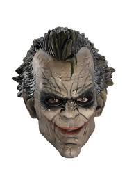 batman arkham city joker 3 4 latex costume mask products