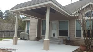 Vinyl Patio Cover Materials by Outdoor Covered Patio Builders In Houston Stonecraft